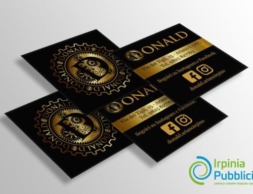 Restyling Bigliettino da visita – Donald